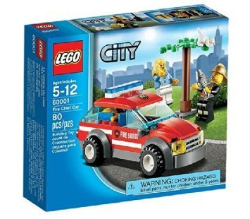 LEGO City Fire Chief Car 60001