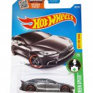 Hot Wheels 2016 HW Green Speed Tesla Model S 242/250, Dark Gray