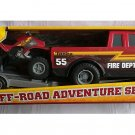 Tonka Off-Road Adventure Fire Dept Set Truck with ATV