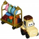Disney Planes Ted Yale with Luggage Cart Diecast Vehicle