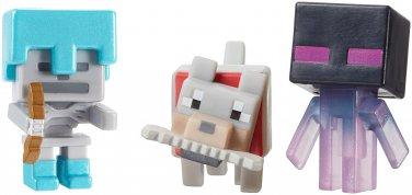 Minecraft Mini-Figures 3 pack. Ice 5 Series.