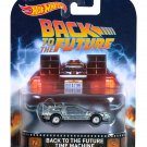 Hot Wheels Retro Entertainment  Back To The Future Time Machine Vehicle