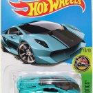 Hot Wheels, 2016 HW Exotics, Lamborghini Sesto Elemento [Teal] 80/250