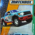 Matchbox 2016 MBX Explorers Ford F-150 SVT Raptor 117/125, Light Blue