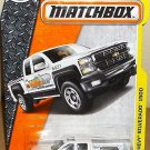 Matchbox 2016 MBX Construction '14 Chevy Silverado 1500. White.