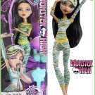 Monster High Dead Tired Doll, Cleo De Nile. Daughter of The Mummy.