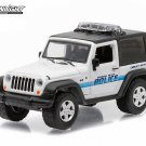 Greenlight Hot Pursuit, 2007 Jeep Wrangler. Hermosa Beach Police 1:64 Scale.