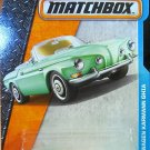 Matchbox 2016 MBX Adventure City Volkswagen Karmann Ghia 29/125, Light Green