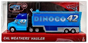 Disney/Pixar Cars 3 Cal Weather's Hauler (Dinoco)