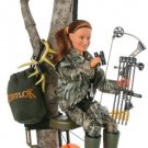 "Hunter Ann Bow Hunter 8"" Action Figure"