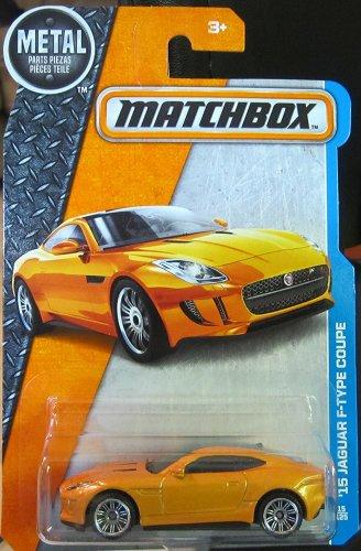 Matchbox 2016 MBX Adventure City '15 Jaguar F-Type Coupe 15/125, Orange