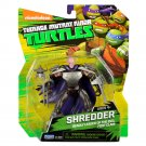 Unmasked Shredder Deadly Leader of the Evil Foot Clan Turtle Action Figure