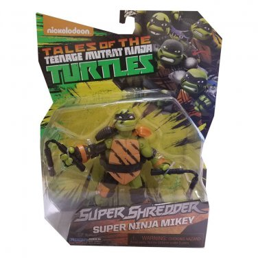 Teenage Mutant Ninja Turtles Super Ninja Michelangelo Action Figure