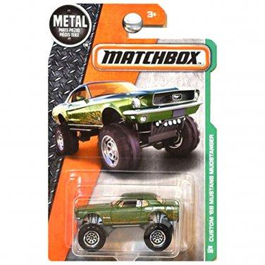 Matchbox 2016 Custom 1968 Ford Mustang Mudstanger 4x4 Offroad