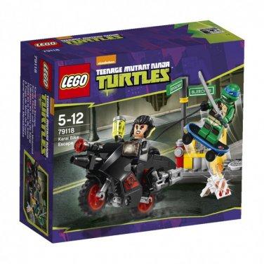 Lego Teenage Mutant Ninja Turtles. Karai Bike Scape 79118 (88 pieces)