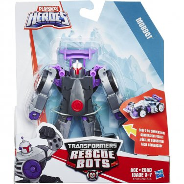 Transformers Rescue Bots. Morbot The Robot to Racecar