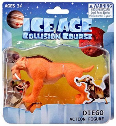 "Ice Age Collision Course DIego 3"" Action Figure"