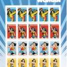 USPS Wonder Woman Sheet of 20 Forever Stamps 2016.