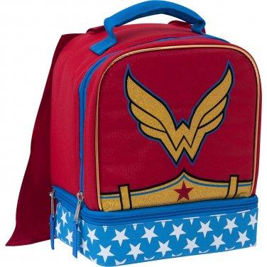 DC Superhero Girls  Wonder Woman Lunch Box with Cape