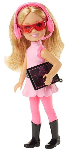 Barbie Spy Squad Junior Agent Doll Chelsea, Pink