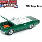 Johnny Lightning Muscle Cars U.S.A. 1969 Dodge Coronet R/T 1:64 Scale.