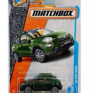 Matchbox 2017 MBX Adventure City '16 Fiat 500X 3/125, Green