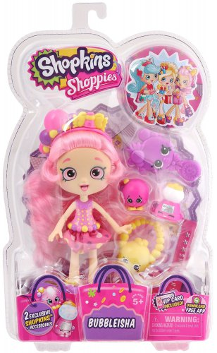 Shopkins Shoppies S1 Doll Pack Bubbleisha