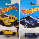 Hot Wheels '17 Ford GT Yellow  and '17 Pagani Huayra Roadster 2 Pack