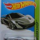 Hot Wheels 2014 HW Workshop McLaren P1 Silver