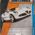 Matchbox 2016 MBX Adventure City. Alfa Romeo 4C 26/125, White