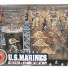 U.S. Marines Communications Post Semper Fi 4 Figures & Playset