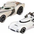 Hot Wheels Boys Star Wars Character Car Rey vs First Order Flametrooper (2 Pack)