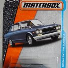Matchbox 2017 MBX Adventure City '71 Nissan Skyline 2000 GTX 11/125, Gray