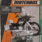 Matchbox, 2016, BMW R1200 GS Motorcycle (Black/Green) #120/125