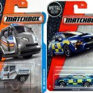 Matchbox Police bundle. Meter Made  &  '15 Subaru WRX STI 2017