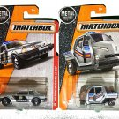 Matchbox Police Bundle: '93 Ford Mustang LX SSP &  Meter Made.