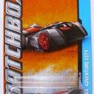 Matchbox 60th Anniversary MBX Adventure City 10/120 - Batmobile (Gray)