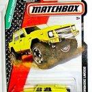 Matchbox 2015 MBX Explorers Lamborghini LM002 83/120, Yellow