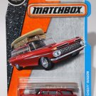 Matchbox 2017 MBX Adventure City 1/125 - '59 Chevy Wagon (Red)