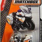 Matchbox 2014.  BMW R1200 RT-P Police Motorcycle 73/120