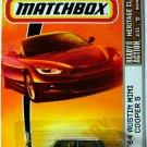 Matchbox 2009 '64 Austin Mini Cooper S Dark Green.