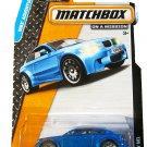 Matchbox Adventure City 71/120. BMW M1 (blue)