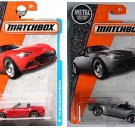 Matchbox '15 Mazda MX-5 Miata Red & Mazda MX-5 Miata Silver. 2 Pack.