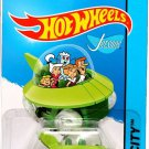 Hot Wheels, 2015 HW City, The Jetsons Capsule Car #57/250