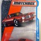 Matchbox 2017 MBX Adventure City '71 Pontiac Firebird Formula 25/125, Orange