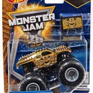 2017 Hot Wheels Monster Jam 1:64 Scale Truck with Team Flag - Gold Chrome Max-D