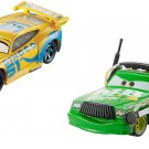 Disney Cars 3 Dinoco Cruz Ramirez and Chick Hicks with Headset diecast vehicles