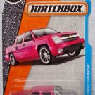 Matchbox 2017 MBX Adventure City '02 Chevy Avalanche 24/125, Pink