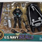 United States Navy Seal Figure Playset with Accessories and Combat Rubber Raiding Craft