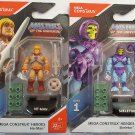 Mega Construx Heroes Series 1 Masters of the Universe He-Man and Skeletor Bundle